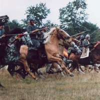 Norman horse charge