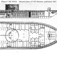 USS Monitor Layout